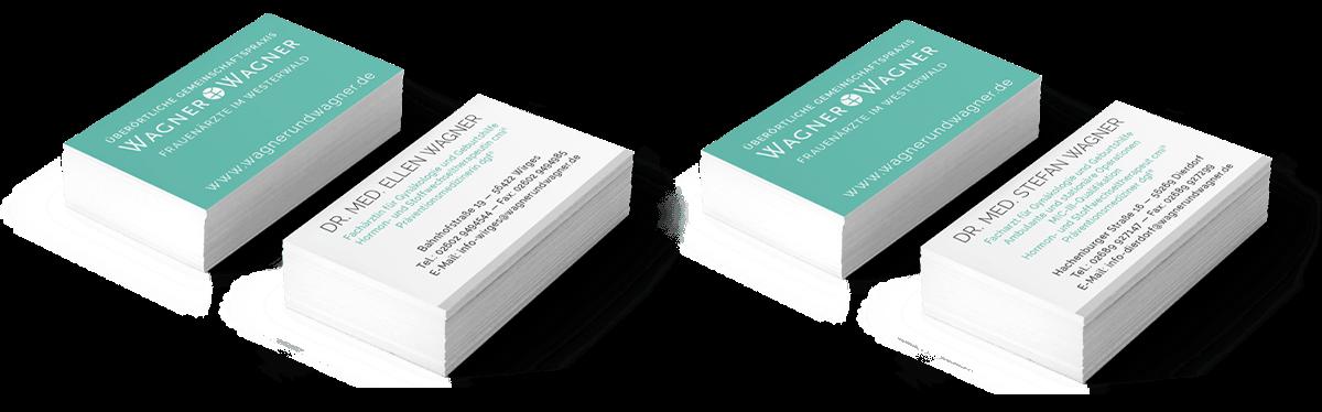 Visitenkarten Ärzte