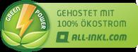 Gehostet mit 100 % Ökostrom